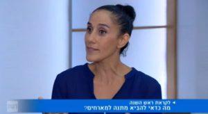 רחל מנדלוביץ מתארחת בתוכנית של מנחם טוקר